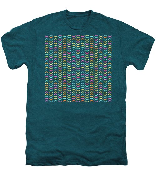Geometric Pattern Men's Premium T-Shirt