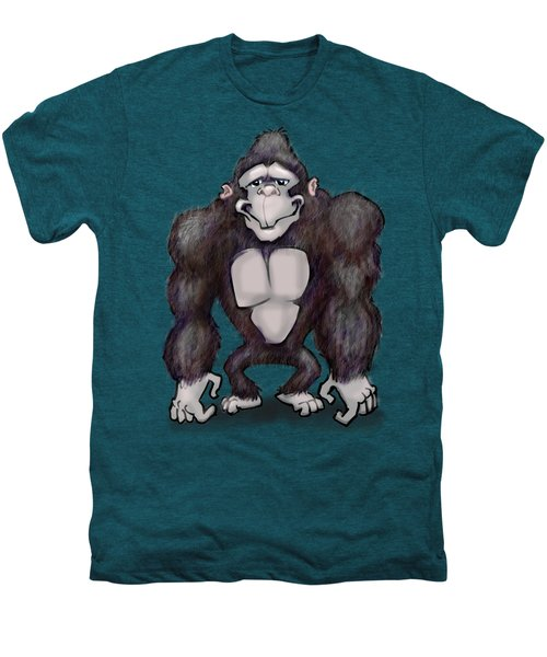 Gorilla Men's Premium T-Shirt by Kevin Middleton