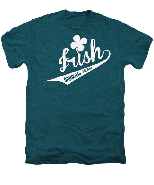 St. Patrick's Day Men's Premium T-Shirt by ES Design