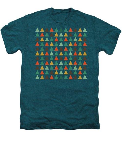 Colorful Geometric Background Men's Premium T-Shirt