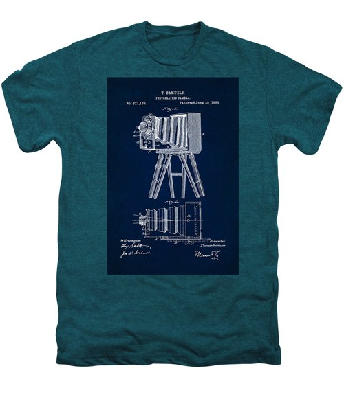 1885 Camera Us Patent Invention Drawing - Dark Blue Men's Premium T-Shirt
