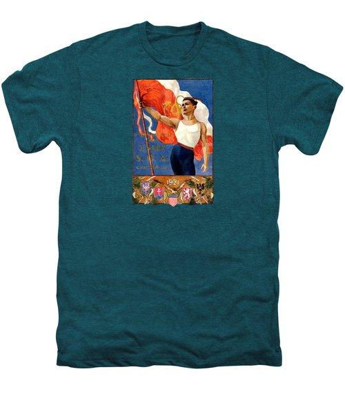 1921 Czech Sokol Of Chicago  Men's Premium T-Shirt