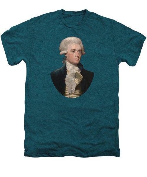 Thomas Jefferson - By Mather Brown Men's Premium T-Shirt