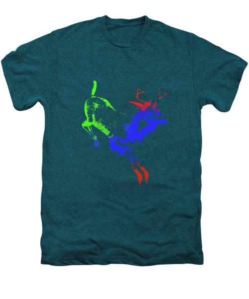Paint Drips Men's Premium T-Shirt by Solomon Barroa