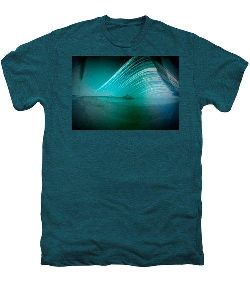 6 Month Exposure Of Eastbourne Pier Men's Premium T-Shirt