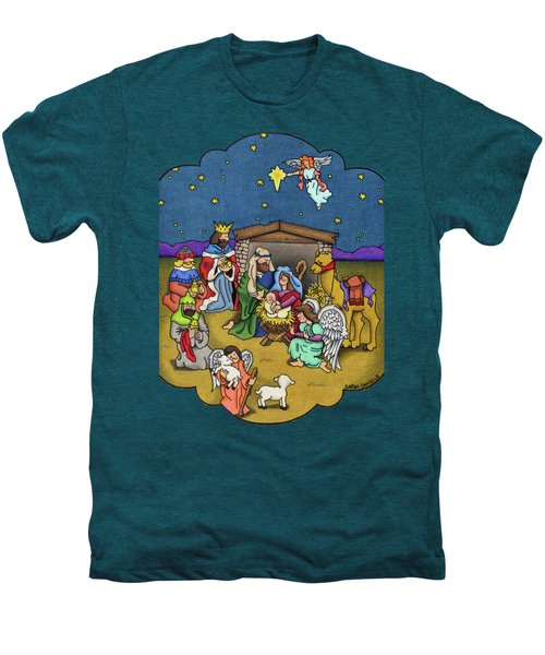 A Nativity Scene Men's Premium T-Shirt