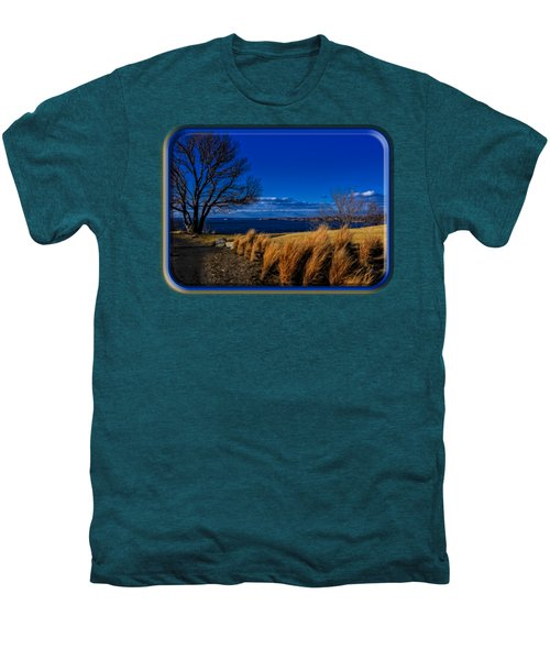 A Side Path Men's Premium T-Shirt by Mark Myhaver