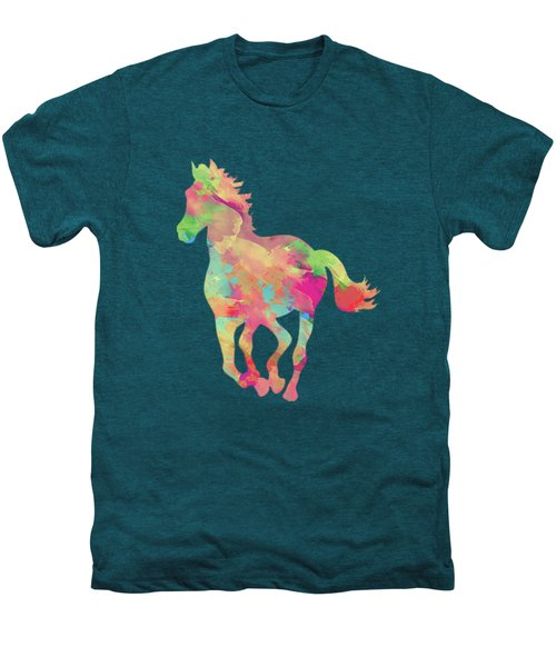 Abstract Horse Men's Premium T-Shirt by Amir Faysal