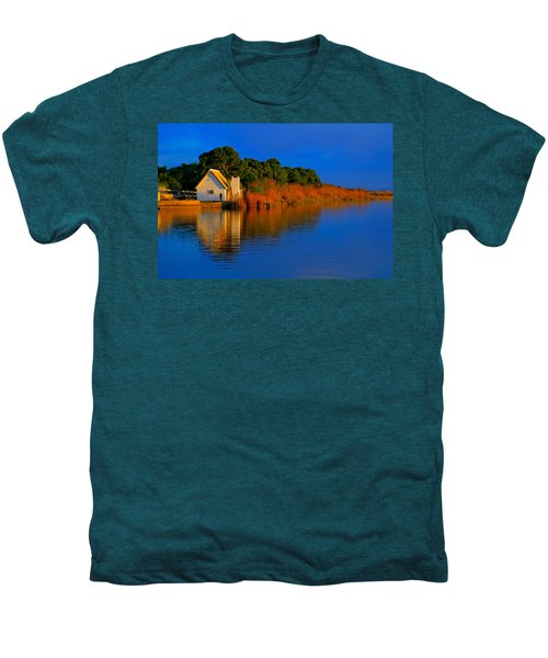 Albufera Blue. Valencia. Spain Men's Premium T-Shirt