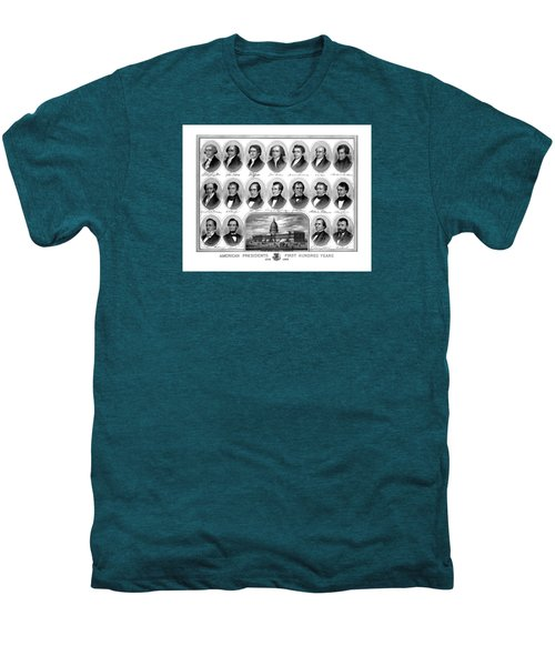 American Presidents First Hundred Years Men's Premium T-Shirt