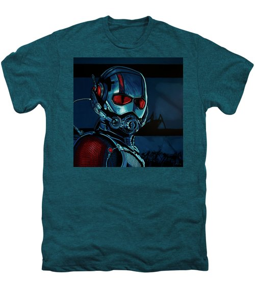 Ant Man Painting Men's Premium T-Shirt by Paul Meijering