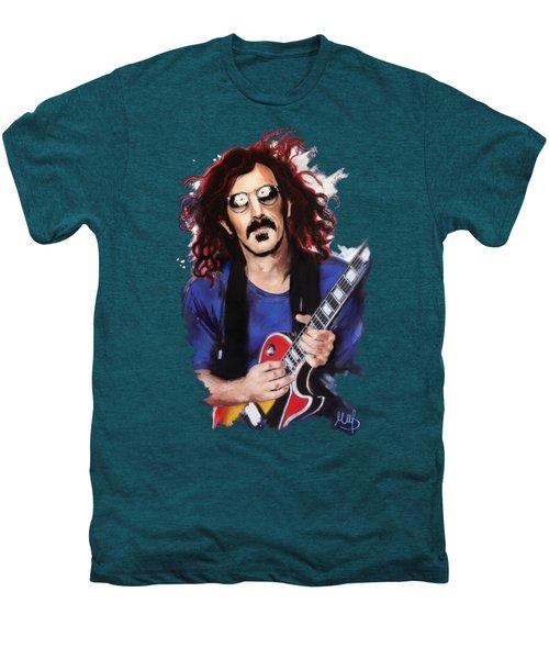 Frank Zappa Men's Premium T-Shirt by Melanie D