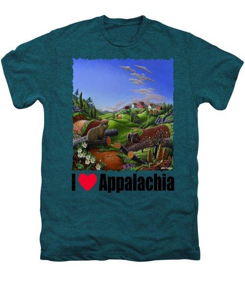 I Love Appalachia - Spring Groundhog Men's Premium T-Shirt