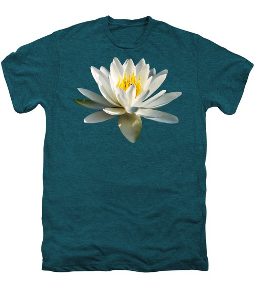 White Water Lily Men's Premium T-Shirt by Christina Rollo