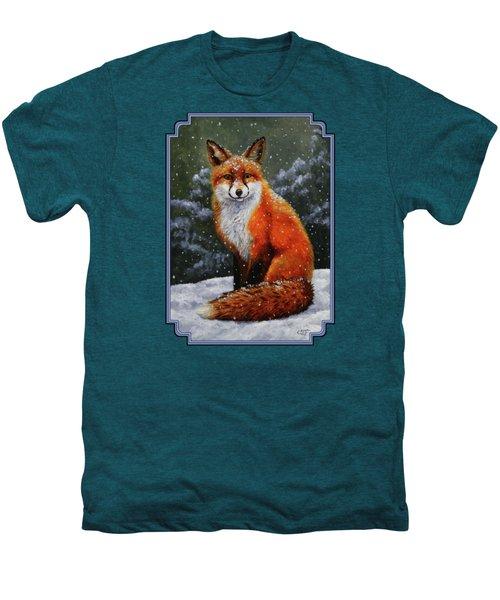 Snow Fox Men's Premium T-Shirt