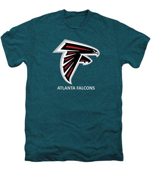 Atlanta Falcons Barn Men's Premium T-Shirt by Movie Poster Prints