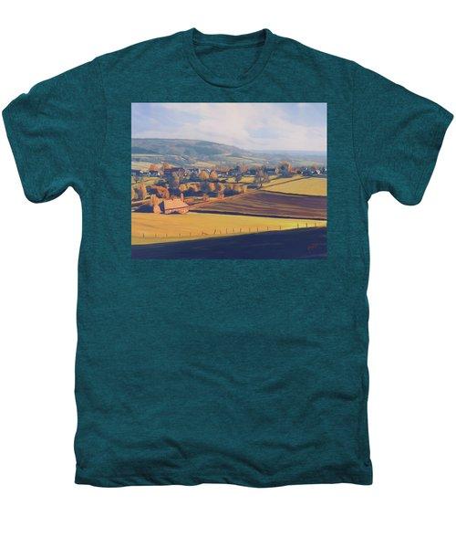 Autumn In Mechelen Men's Premium T-Shirt by Nop Briex