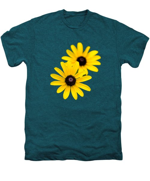 Men's Premium T-Shirt featuring the photograph Black Eyed Susans by Christina Rollo