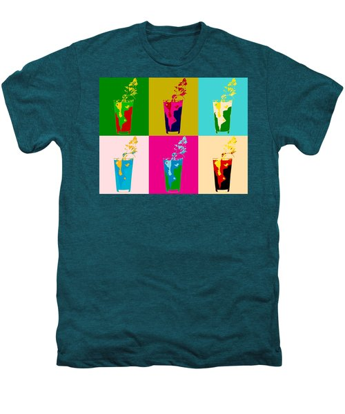 Bloody Mary Pop Art Panels Men's Premium T-Shirt by Dan Sproul