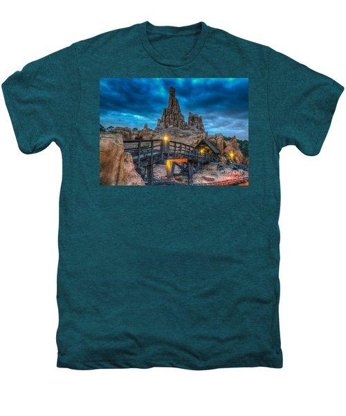Blue Hour Over Big Thunder Mountain Men's Premium T-Shirt