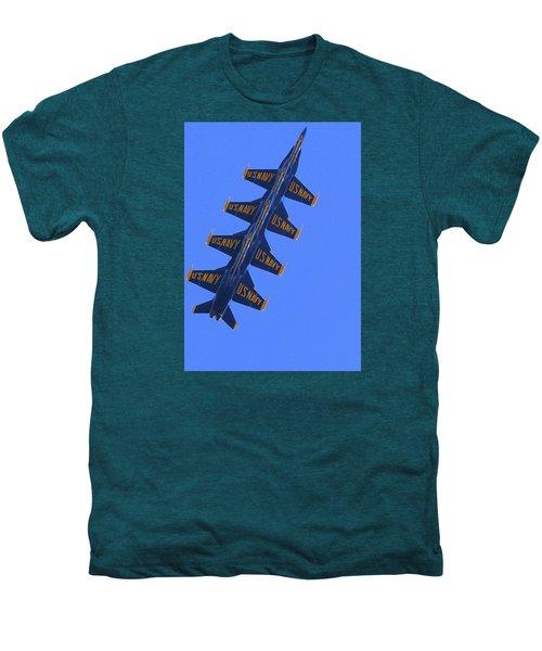 Blue On Blue Men's Premium T-Shirt