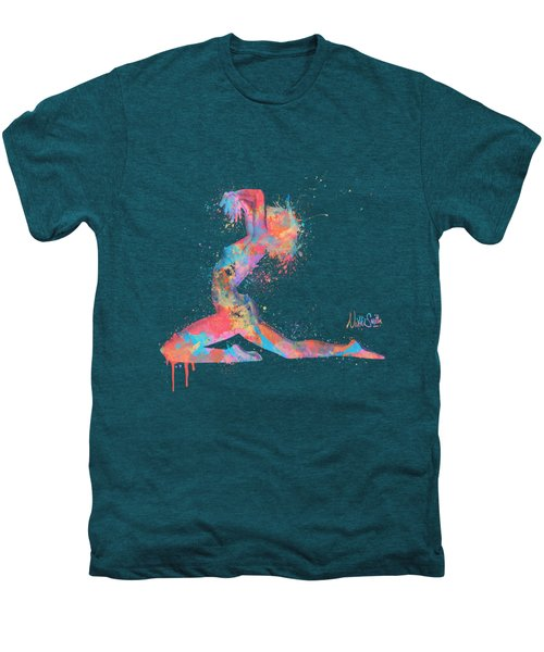 Bodyscape In D Minor - Music Of The Body Men's Premium T-Shirt by Nikki Marie Smith