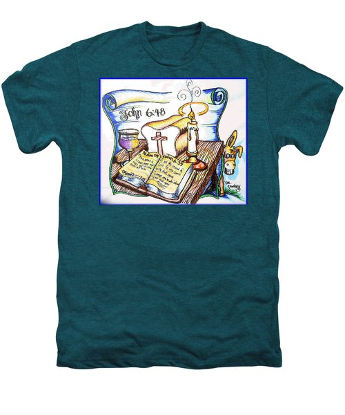 Bread Of Life Men's Premium T-Shirt by Duane Bemis