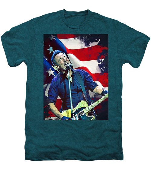 Bruce Springsteen Men's Premium T-Shirt