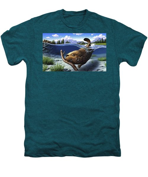 Busy Beaver Men's Premium T-Shirt
