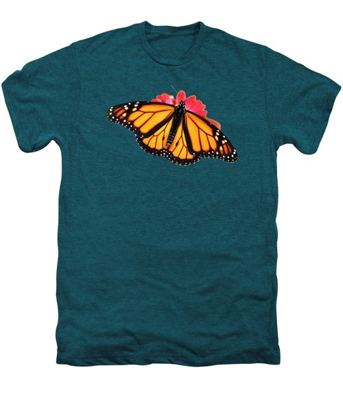 Men's Premium T-Shirt featuring the mixed media Butterfly Pattern by Christina Rollo