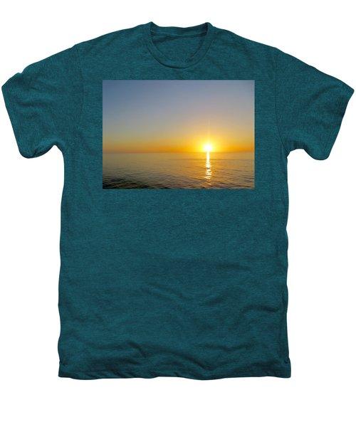 Caribbean Sunset Men's Premium T-Shirt by Teresa Wing