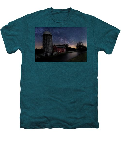 Men's Premium T-Shirt featuring the photograph Celestial Farm by Bill Wakeley