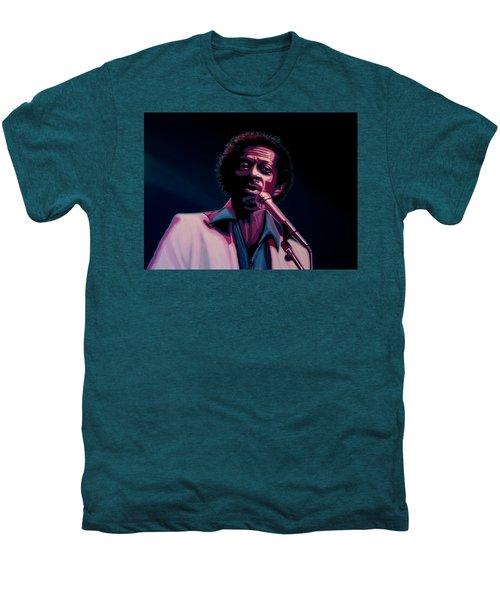Chuck Berry Men's Premium T-Shirt by Paul Meijering