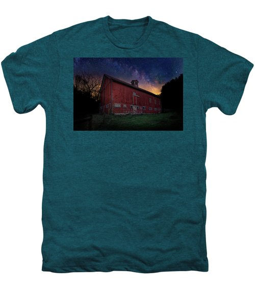 Men's Premium T-Shirt featuring the photograph Cosmic Barn by Bill Wakeley