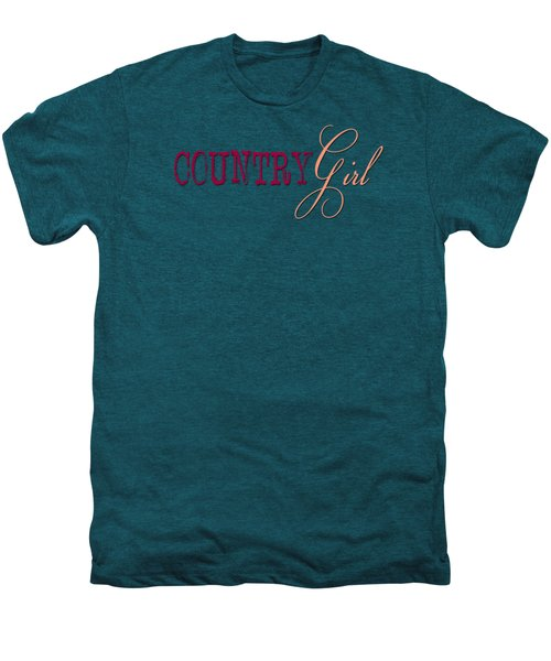 Country Girl Men's Premium T-Shirt by Liesl Marelli
