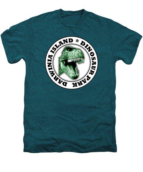 Dinosaur Park Men's Premium T-Shirt by Gaspar Avila