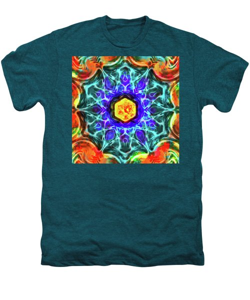 Emerald Circle Mandala Men's Premium T-Shirt