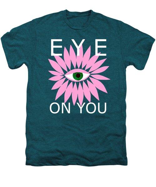 Eye On You - Black Men's Premium T-Shirt