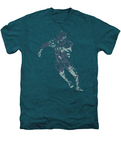 Ezekiel Elliott Cowboys Pixel Art T Shirt Men's Premium T-Shirt