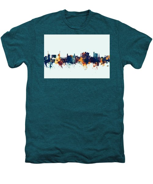 Fayetteville Arkansas Skyline Men's Premium T-Shirt