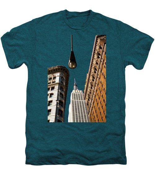 Flatiron District Men's Premium T-Shirt by Paul Lamonica