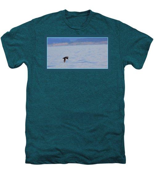 Flying Rhino Men's Premium T-Shirt by BYETPhotography
