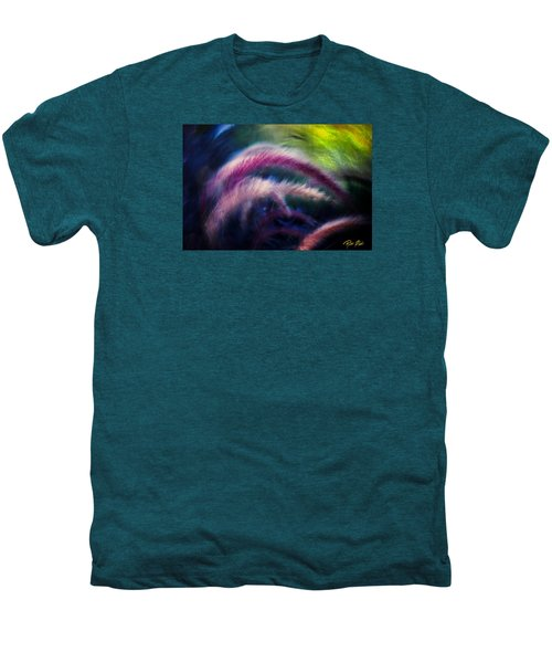 Men's Premium T-Shirt featuring the photograph Foxtails In Shadows by Rikk Flohr