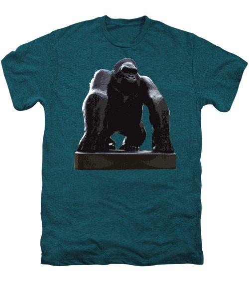 Gorilla Art Men's Premium T-Shirt by Francesca Mackenney