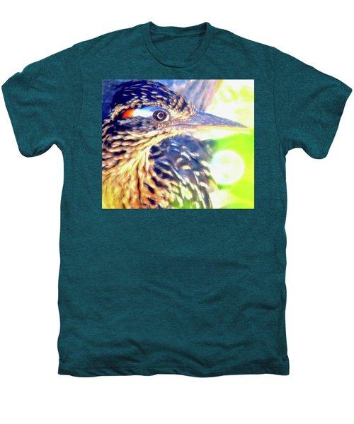 Greater Roadrunner Portrait 2 Men's Premium T-Shirt