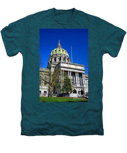 Harrisburg Capitol Building Men's Premium T-Shirt