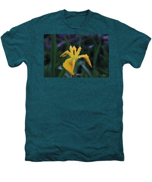 Heart Of Iris Men's Premium T-Shirt