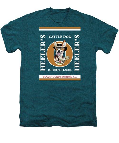Heeler's Cattle Dog Imported Lager Men's Premium T-Shirt