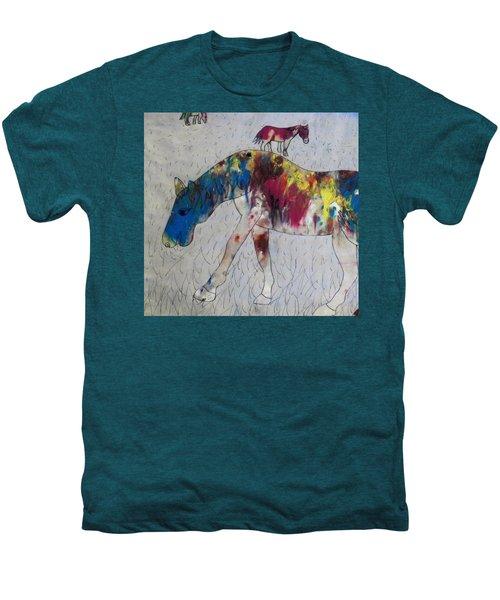 Horse Of A Different Color Men's Premium T-Shirt