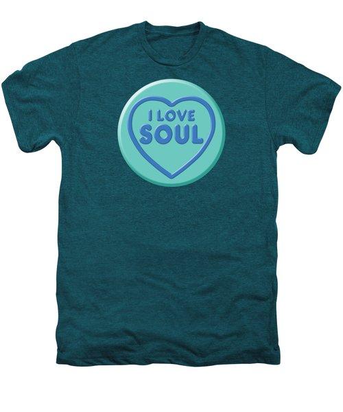 I Love Soul Men's Premium T-Shirt